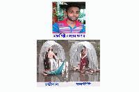 চন্ডিদাস-রজকীনির ভাষ্কর্য নির্মাণ করে সাড়া জাগালেন কেন্দুয়ার কলেজ ছাত্র কংকর