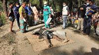 শ্রীবরদীতে নিখুঁজের চার দিন পর ইট ভাটার পাহারাদারের লাশ উদ্ধার